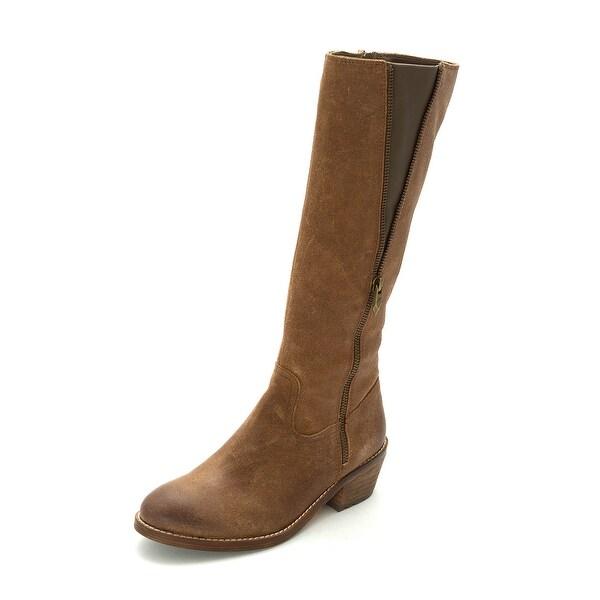 Fergie Womens Camino Closed Toe Mid-Calf Fashion Boots - 7.5