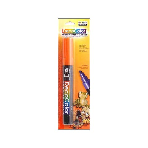 315c-7 uchida decocolor acry paint pen card orange