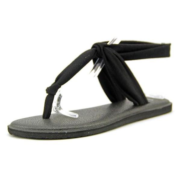 Sanuk Yoga Sling Ella Black Sandals