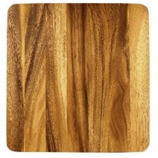"Fox Run 28453 Acacia Wood Cutting Board, 9"" x 9"""