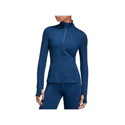 Adidas Stella McCartney Womens Athletic Jacket - Mystery Blue - XS