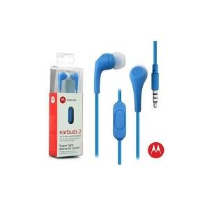 Motorola Earbuds 2 In Ear Headphones - Blue