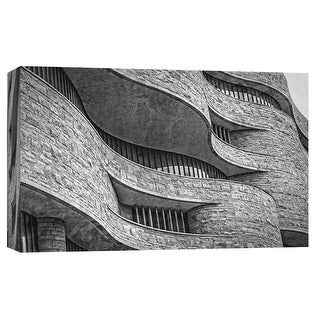 """PTM Images 9-103797  PTM Canvas Collection 8"""" x 10"""" - """"Museum of the American Indian 1"""" Giclee Buildings and Landmarks Art Print"""