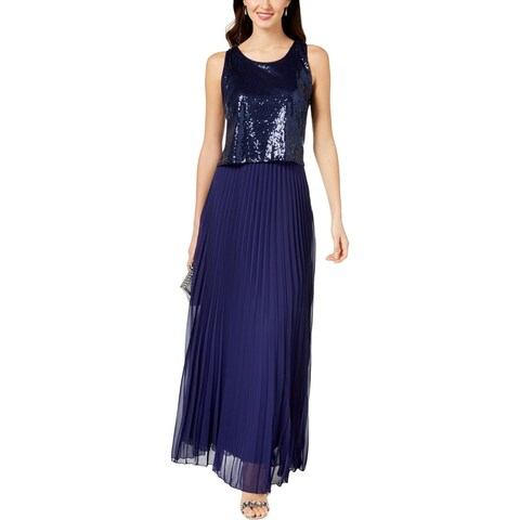 MSK Womens Evening Dress Party Sequined