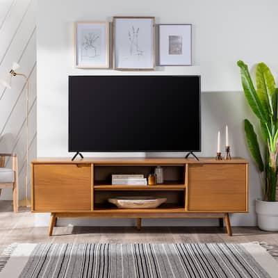 Carson Carrington 70-Inch Mid Century TV Stand Console