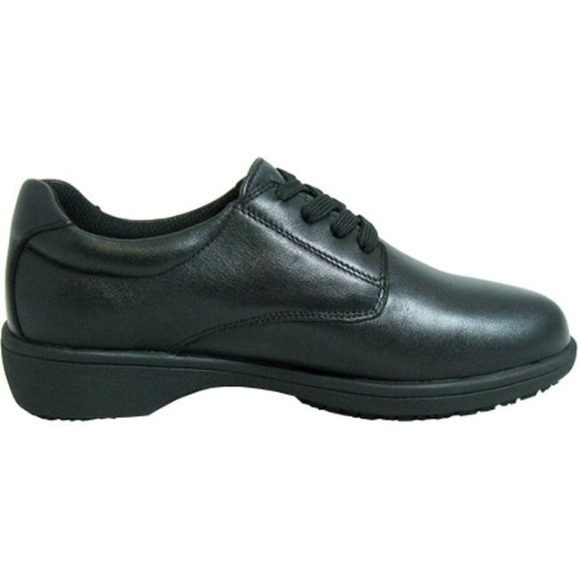 042ea06876 Shop Genuine Grip Footwear Women s Slip-Resistant Oxford Casual Black Soft  Full Grain Leather - Free Shipping Today - Overstock - 7936006