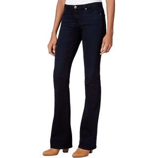 Adriano Goldschmied Womens The Angel Bootcut Jeans Stretch Mid Rise