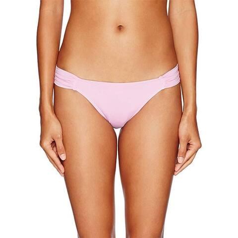 O'Neill Women's Salt Water Solids Tab Side Bikini Bottom, Bright Urchin, S