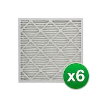 Replacement Pleated Air Filter for For Honeywell CF100A1009 Furnace 16x25x4 MERV 11 (6 Pack)