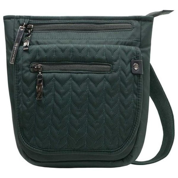 d25f407bb2 Sherpani Women  x27 s Jag LE Anti-theft Polyester Crossbody Bag Forest Green