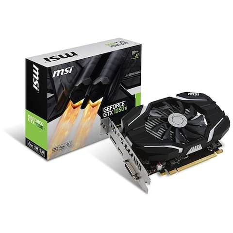 MSI USA GeForce GTX 1050 Ti Graphic Card GeForce GTX 1050 Ti Graphic Card