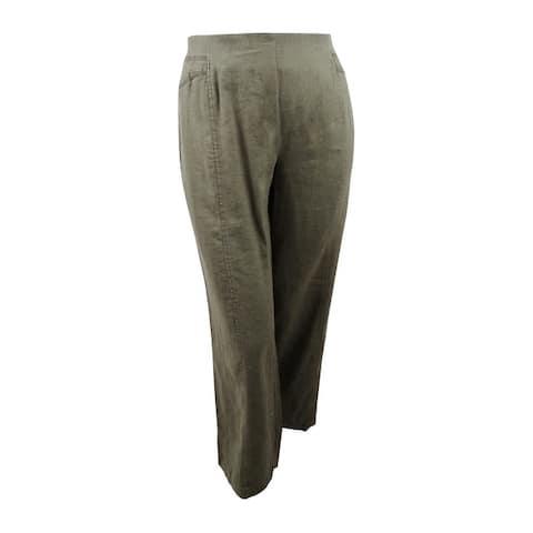 INC International Concepts Women's Plus Size Wide-Leg Pants