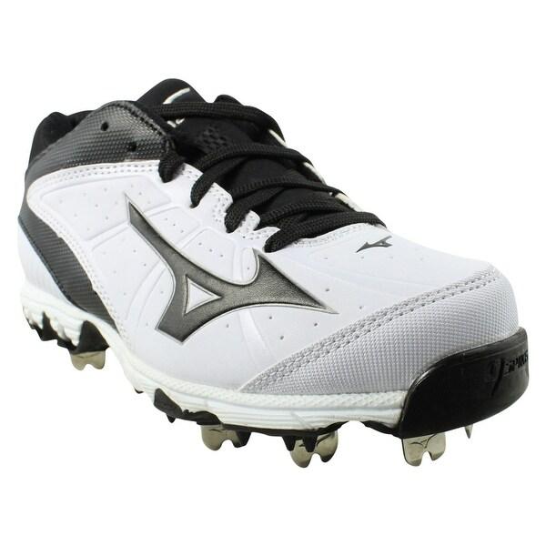 aca0864a45e3 New Mizuno Mens 9-Spike Swift 4 White-black Baseball Cleats Size 5 Wide