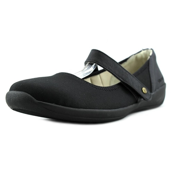 Stretchies Margaret II W Round Toe Synthetic Mary Janes