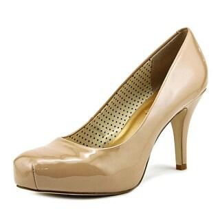 Madden Girl Getta Women  Round Toe Synthetic Nude Heels
