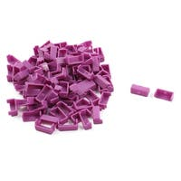 Notebook Plastic LED Cover Purple 120pcs for 104 Mechanical Keyboard