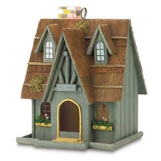 Fairytale Cottage Birdhouse