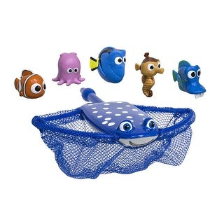 """Set of 6 Water Sports Disney Pixar Finding Dory Mr. Rays Dive and Catch Swimming Pool Game 10"""""""