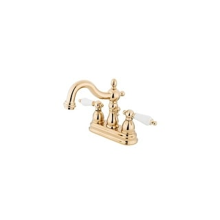 "Link to Elements Of Design EB1602PL Double Handle 4"" Centerset Bathroom Faucet Similar Items in Bathroom Furniture"
