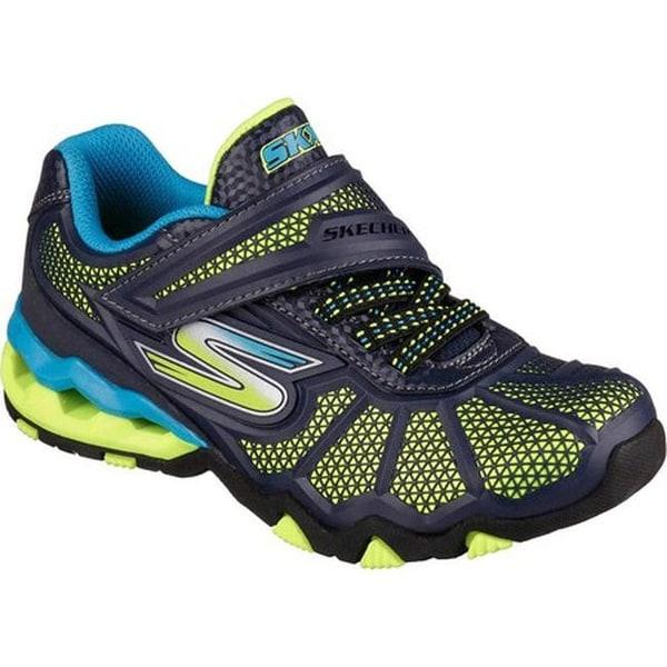 86985bf8d220 Shop Skechers Boys  Hydro Static Sneaker Navy Blue - Free Shipping ...