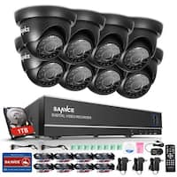 SANNCE 8CH 720P Video Surveillance Cameras System 1TB HD