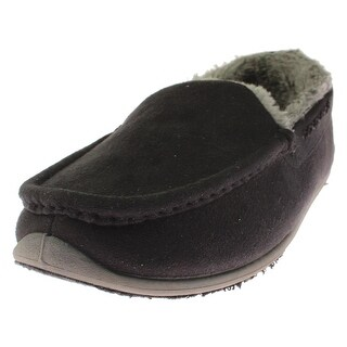 Deer Stags Womens Birch Moccasin Slippers Microsuede Faux Fur