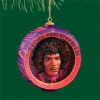 """Carlton Heirloom Collection """"Happy Hendrix Holidays"""" Christmas Ornament #3740391 - PInk"""