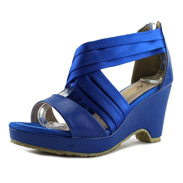 b69aa153254d78 Shop Beacon Alana Women Blue Sandals - Free Shipping On Orders Over ...