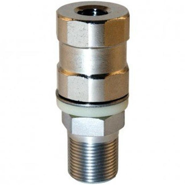 Super-Duty CB Stud Stainless Steel SO-239, All Thread & Contact