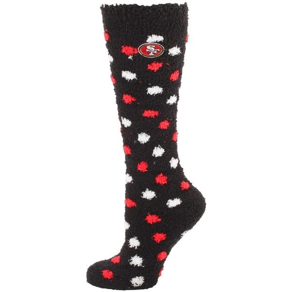 San Francisco 49ers Polka Dot Sleep Socks