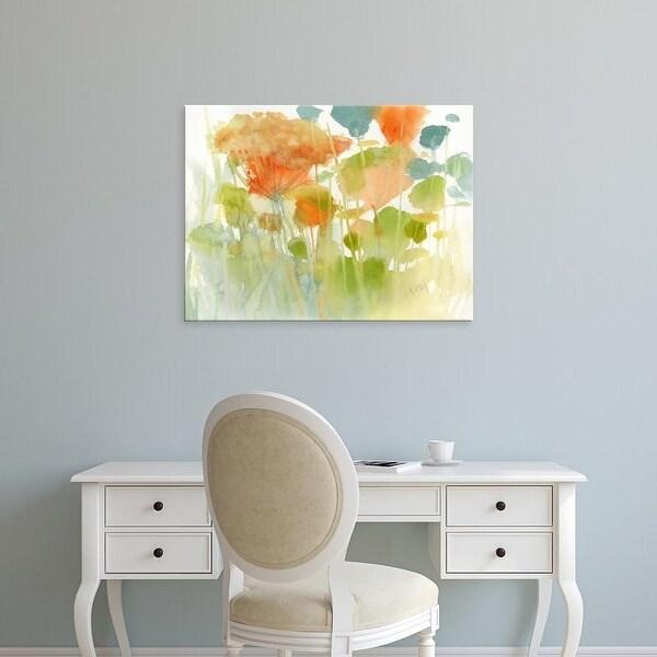 Easy Art Prints Karen Margulis's 'Summer Profusion' Premium Canvas Art