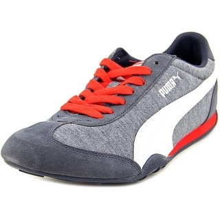 Puma 76 Runner Jersey   Round Toe Canvas  Sneakers