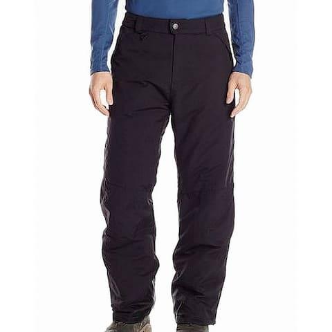 White Sierra Mens Pants Black Size Large L Toboggan Insulated Stretch