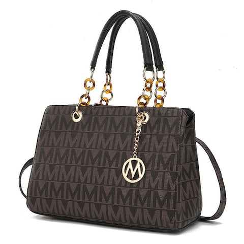 MKF Collection Sirna M Signature Tote Bag by Mia K.