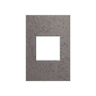 Legrand AWM1G2HFFE4 adorne Hubbardton Forge Metal 1 Gang Wall Plate - 3.5 Inches Wide - natural iron