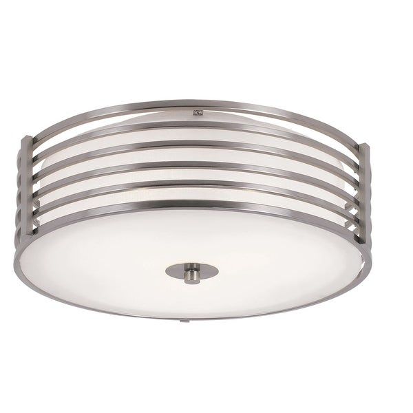 Trans Globe Lighting 10041 3-Light Flushmount Ceiling Fixture from the Pendants and Flushmounts Collection
