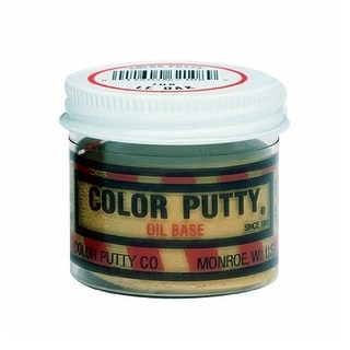 Color Putty 138 Filler Wood Putty, Pecan, 3.68 Oz.