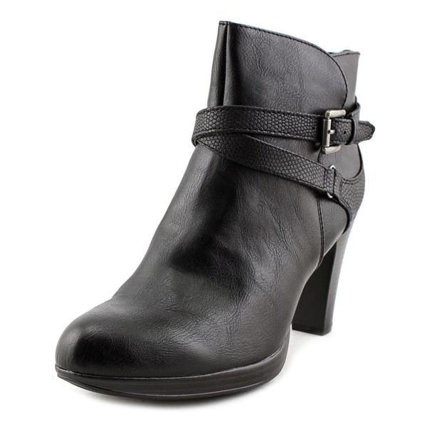Rialto Pamela Women Round Toe Synthetic Black Ankle Boot