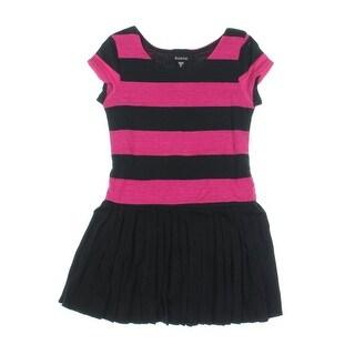 Zunie Girls Striped Casual Dress - 5