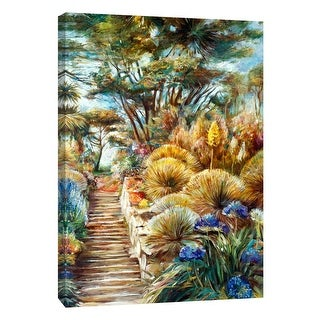 "PTM Images 9-108352  PTM Canvas Collection 10"" x 8"" - ""Desert Garden"" Giclee Landscapes Art Print on Canvas"