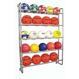 Olympia Sports BC112M Wall Ball Rack - Sport Assessories