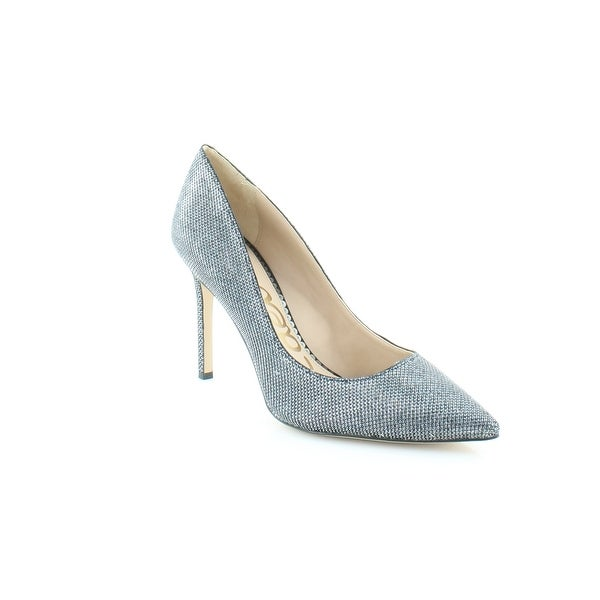 dc45f9c8fe18 Shop Sam Edelman Hazel Women s Heels Blue Met Mesh - Free Shipping ...