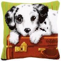 "16""X16"" - Dalmation Cushion Cross Stitch Kit"