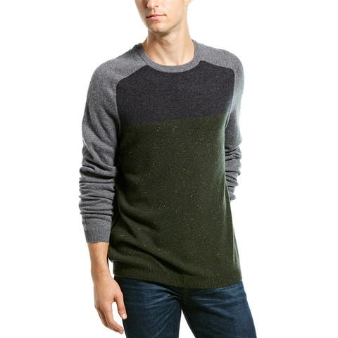 Autumn Cashmere Tricolor Sweater