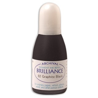 Brilliance Ink Refill .7Oz-Graphite Black