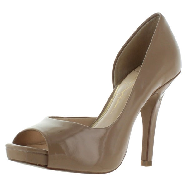 7a8f8918d2223 Shop Jessica Simpson Josette D'Orsay Women's Open Toe Heels - Free ...