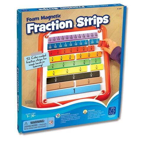 Educational insights foam magnetic fraction bars 4801