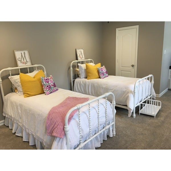 Shop DHP Jenny Lind Metal Twin Bed   Free Shipping Today