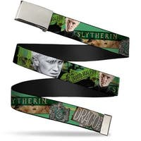 Blank Chrome Buckle Draco Malfoy Poses Draco Malfoy Slytherin Webbing Web Belt