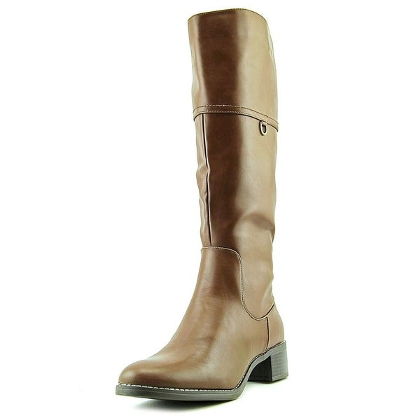 Easy Street Scotsdale Round Toe Synthetic Knee High Boot